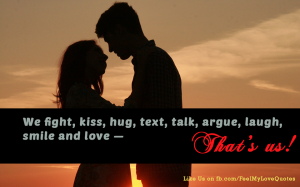 That's us! love quotes