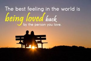 the best feeling in the world love quotes