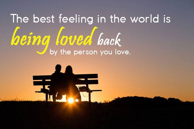 The Best Feeling In The World Love Quotes Blogkiat