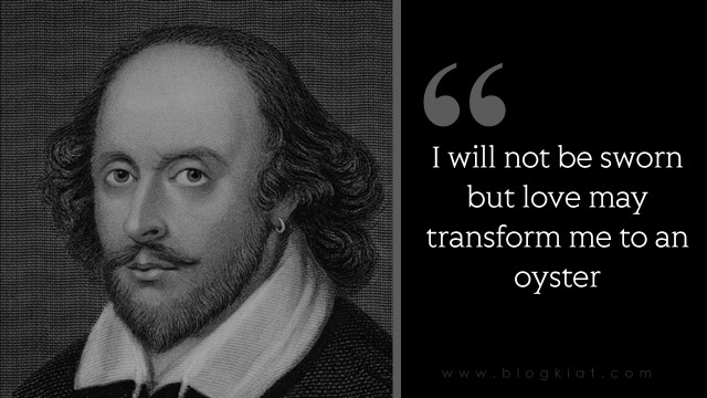 Love Quotes By William Shakespeare