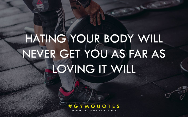 Motivational quotes for gym.