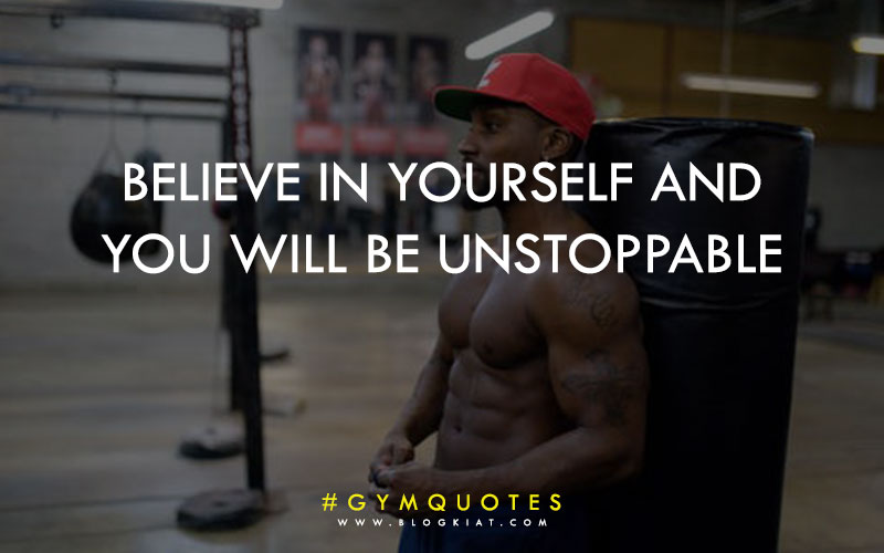 Fitness motivational quotes.