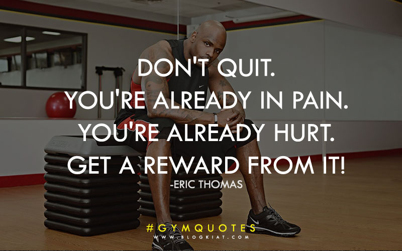 Motivational quotes for gym .
