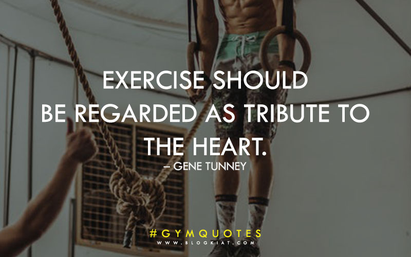 Best fitness gym quotes.